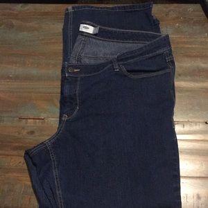 Dark Denim Boot Cut Jeans